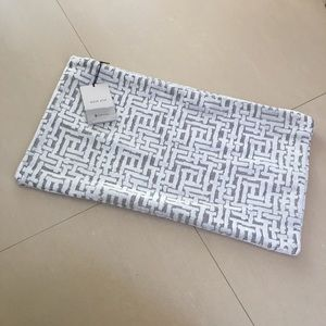 NWT West Elm pillow cover geometric print